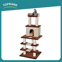 Free Samples Plush And Sisal Materials kitty treehouse