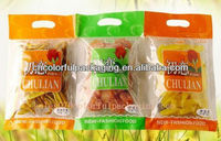 Dried fruit Packaging Bag /biodegradable pouch packaging/food pack with hanger hole