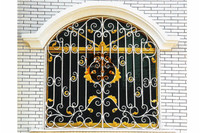 2017 top selling new window grill design HL-I-W-254