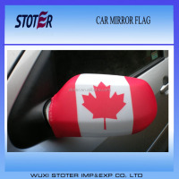 Best sales car mirror flag Canada country design car mirror flag