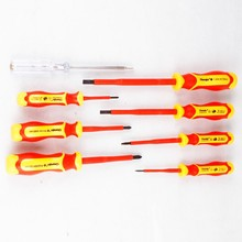 Gator Grip 8 In 1 Vde Insulated 1000v Test Pen Chaves De Fenda Isolada And Philip Screwdrivers