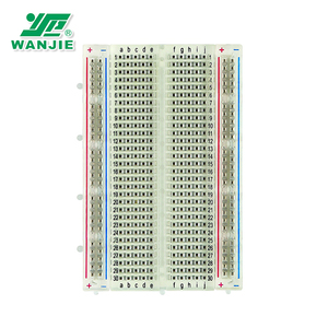 WANJIE Transparent 400Tie-point Solderless Breadboard(BB-801T)