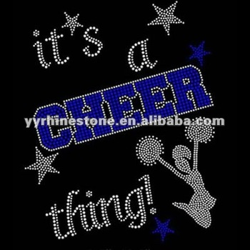 It's a cheer thing wholesale rhinestone transfers