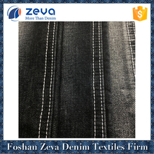 Alibaba china market soft cotton polyester denim fabric for ripped jeans
