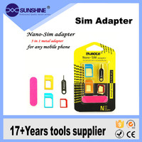 Wholesale Price 5 In 1 Phone Sim Card To Smart Card Adapter For Iphone
