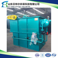 Chicken Slaughtering Wastewater Treatment Machine, solid and liquid separator