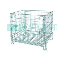 Stainless metal steel storage cages