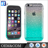 Wholesale protective ultra-thin soft TPU transparent water drop cover case for iphone
