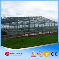 High Strength Easy Install Low Cost Steel Structure Framing Building Fast Erection Light Type Prefabricated Warehouse Workshop
