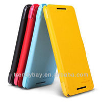 NILLKIN leather flip case for htc butterfly s