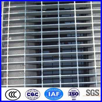 high quality galvanized steel trench grating