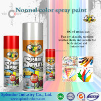 spray paint colorful/acrylic-based handy spray paint with glass bead/spray paint liquid granite