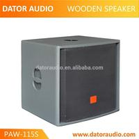 Experienced manufacturer global market dual 18 inch subwoofer box