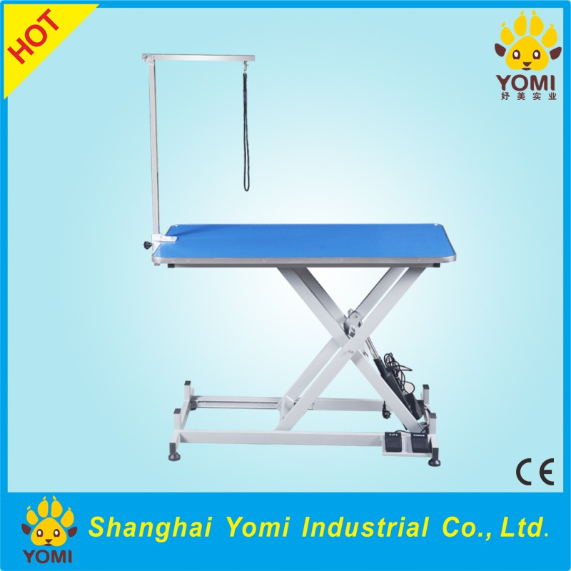 high quality adjustable stainless steel pet grooming table