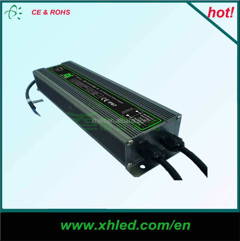 IP67 waterproof 12V switching power supply(XH-V120100-A)----CE,ROHS Main product