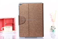 Fashion tablet leather case cover for ipad air 2/Multi-stand leather case cover for iPad air 2