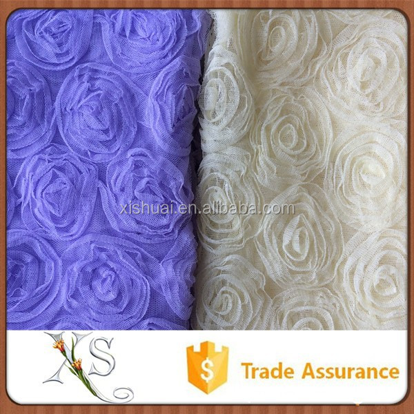China Supplier In Stock Best Seller Mesh Tape Navy Embroidery Fabric