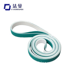 Hot selling Farman auto door green cloth pu timing belt