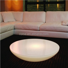 Creative fashion outdoor coffee table led light bar table floor decoration table top