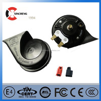 china motorcycle/car /truck electric 12v 110db single-tone snail horn loud sound level manufactory horn