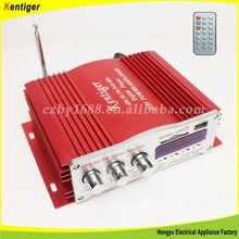 4 channel DC12V with remote control car amplifier
