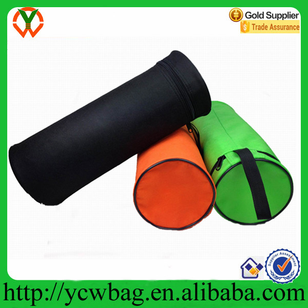Polyester bottle cover cooler sleeve bag
