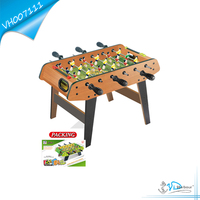 Latest indoor wooden football table game toy