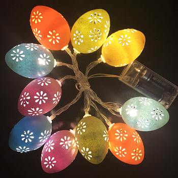 Plastic LED easter eggs for Easter