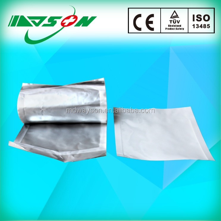 medical heat sealing sterilization packaging aluminum pouches