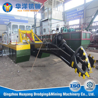 river gold machine float,cutter suction dredger