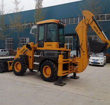 100HP hot sale WZ30-25 hyundai backhoe loader