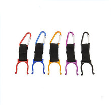 Colorful Aluminum Carabiner Water Bottle Buckle Hook Holder Clip Camping Hiking Key Chain