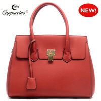 2015 Ladies fashion designer textured Kiss Lock Textured Kiss Lock Tote bags wholesale