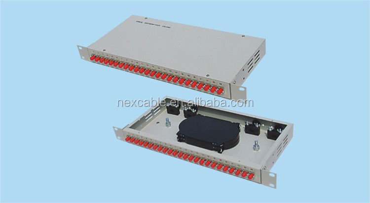 FIBER OPTIC PATCH PANEL WALL MOUNT
