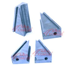 prestressed anchor rigging lock plate fixture M15.24 steel wire wedge post tension work tool jack