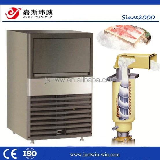 50kg daily out put self-contained snow ice maker for for supermaket lab or seafood