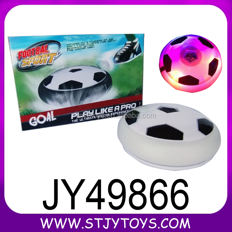 indoor Electronic air hover football goal game with light