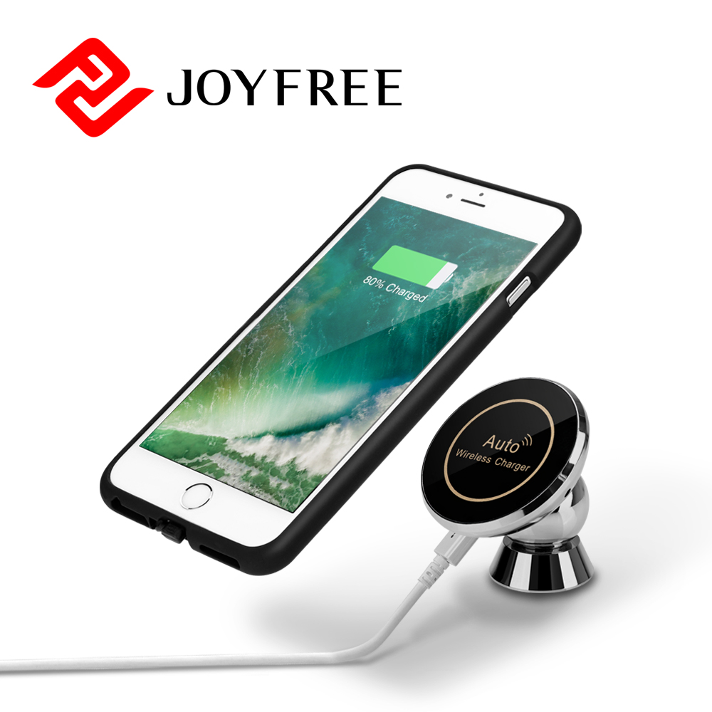 Wireless Car Charger 3 Coils Qi Fast Wireless Charging 10W Available For Iphone