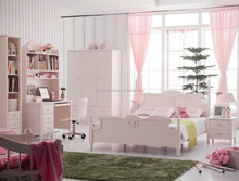 cute girly style kids bedroom furniture sets cheap