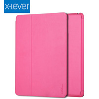 Hot Sale 10% Off Wholesales 7.9 Inch Pink Geniue Leather For Ipad Air 2 Case