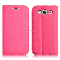 Smart PU Leather wallet flip case cover for Samsung galaxy S3 case smart