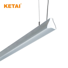 2018 main product indoor office linear aluminum fixture suspended led pendant light