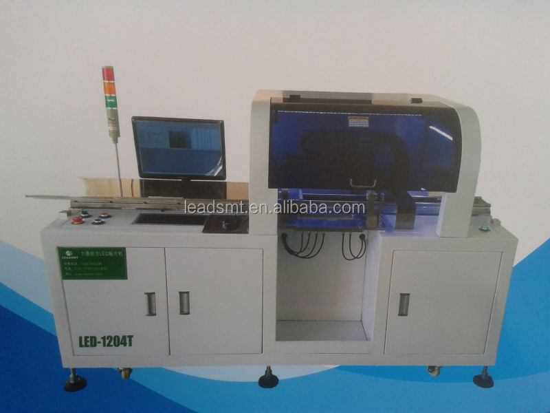 LEADSMT developed!! New pick and place machine for smt pcb assembly