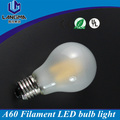 New design filament leds 6w daylight frosted dimmable led bulb 5500k 220v