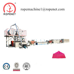Broom Yarn Machine pet monofilament line pet flakes recycled yarn extrusion machine