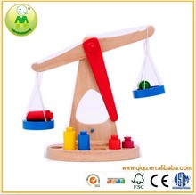 Wooden balance intelligence DIY toys for kid educational wooden toy scale funny balance baby early educational