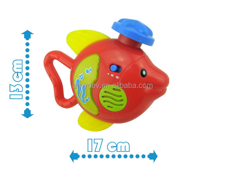 Baby toy Music Flying fish-open baby's overall language talent with music and light for baby