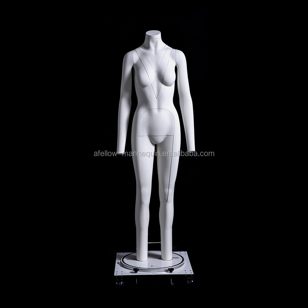 GH21 Fiberglass Female Dummy Invisibility Ghost Mannequin Women Removable model