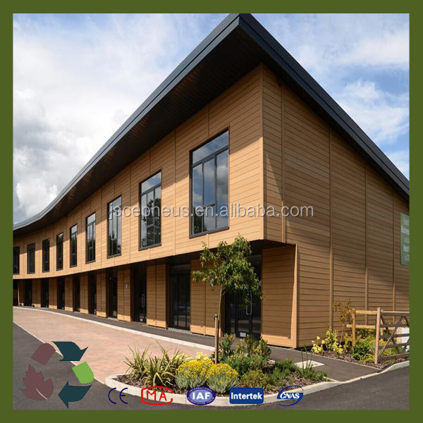 Modern building materials exterior wood plastic composite for Exterior building products
