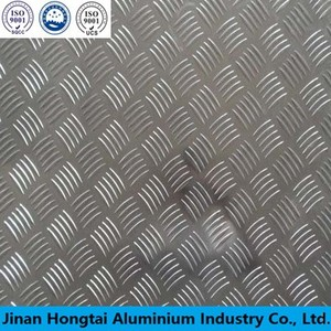 1050 5 Bar Checkered Aluminum plate sheet